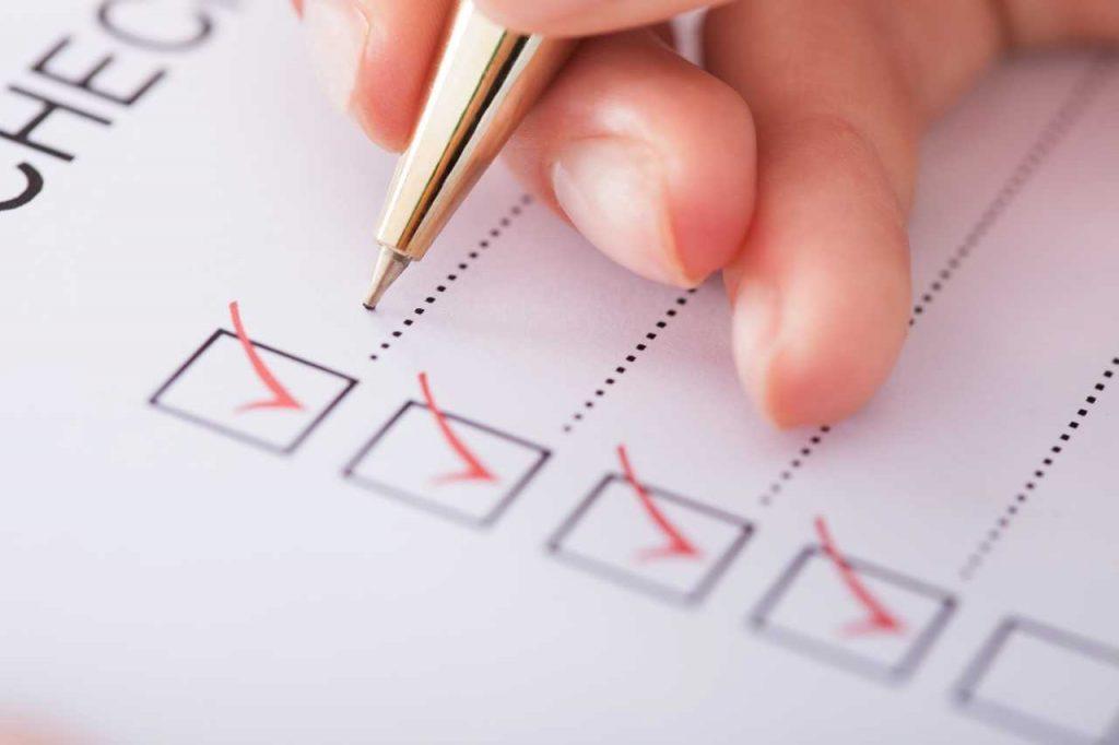 MTD Checklist